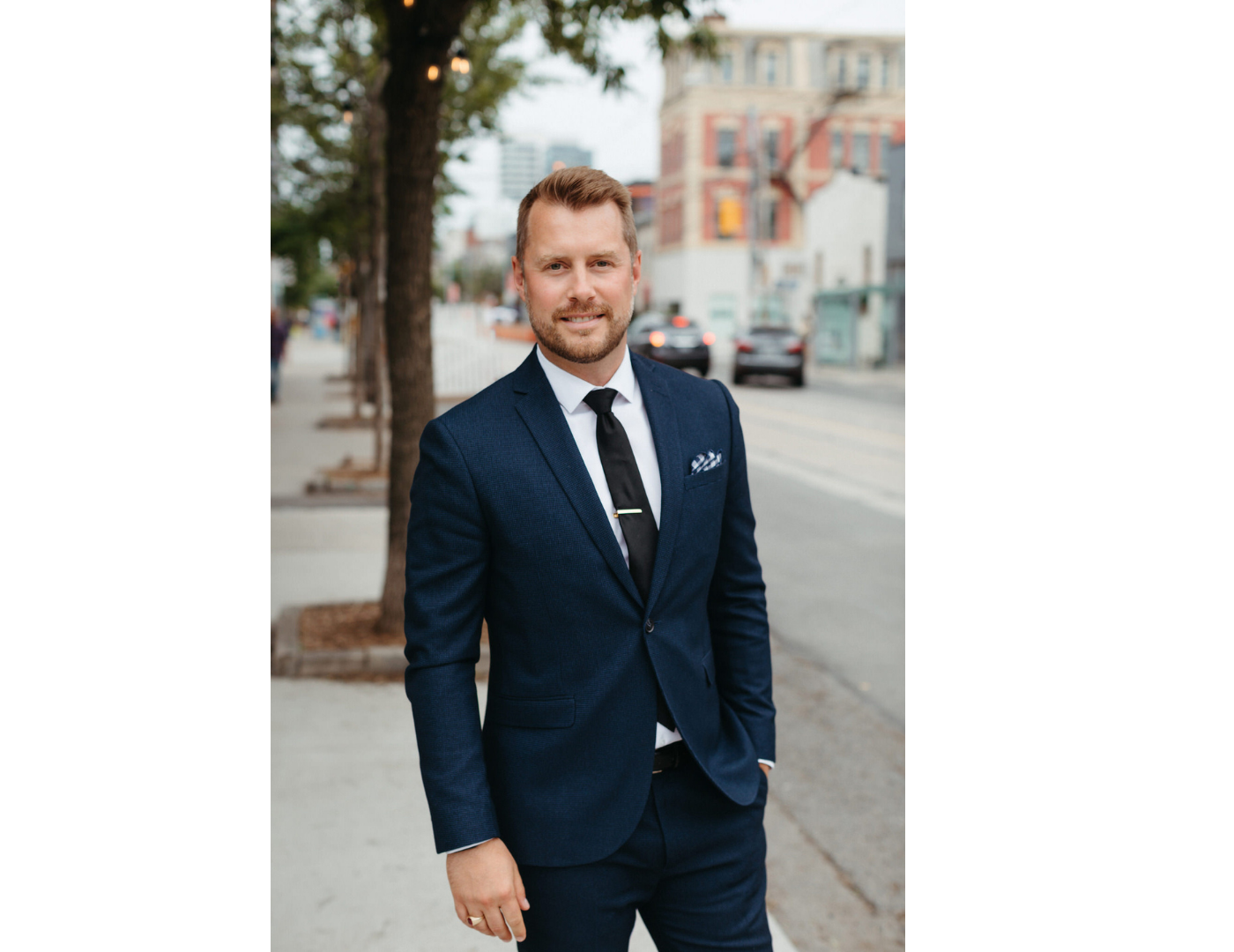 Kyle Bridson Realtor Team Lead BRG Berkshire Hathaway Homeservices Queen West Toronto