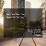 Pre-Construction Preview Seminar - October 12th