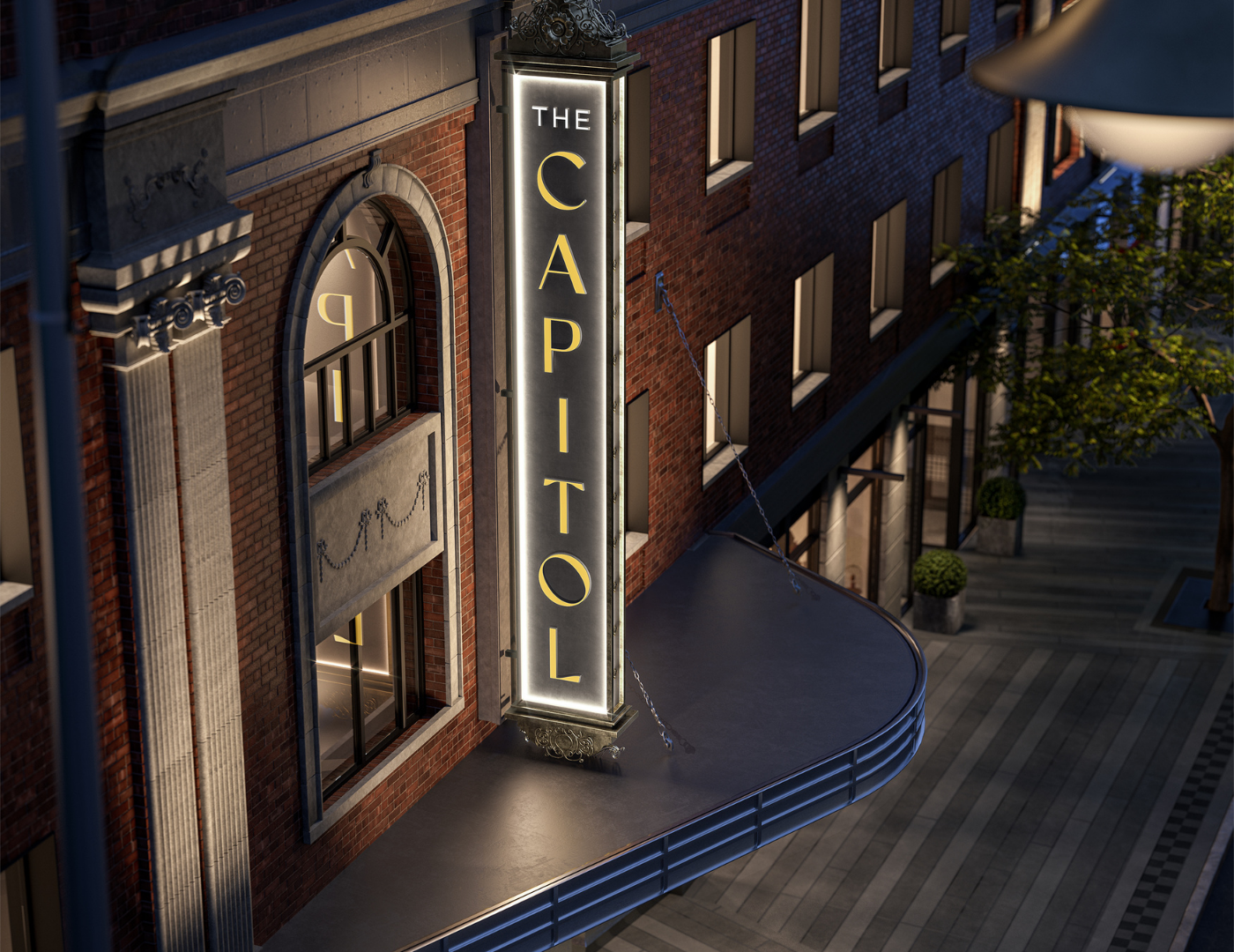 Capitol Theatre revival Residences at 2492 yonge