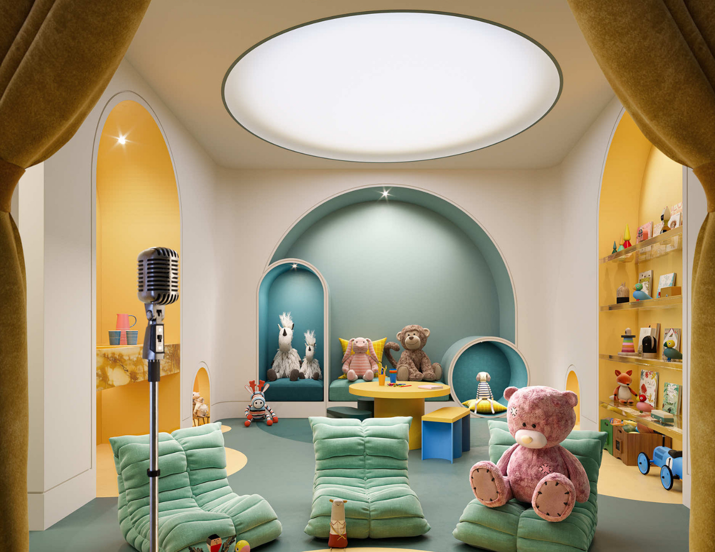 childrens play theatre at Capitol Residences at 2492 yonge